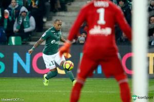 Gabriel Silva, le défenseur latéral gauche de l'AS Saint-Etienne.