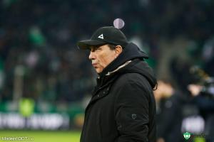 Jean-Louis Gasset, l'entraîneur de l'ASSE.