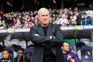 Alain Casanova, l'entraîneur du Toulouse Football Club.