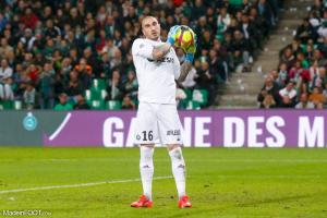 Stéphane Ruffier, l'ancien gardien de but de l'AS Saint-Etienne.