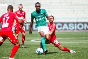 Aholou est sorti blessé à Marseille.