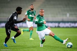 Wahbi Khazri, l'attaquant de l'AS Saint-Etienne, va faire son retour à la compétition.