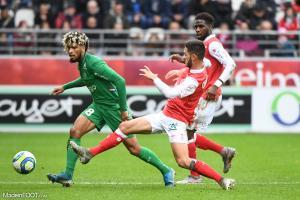 Mahdi Camara, le milieu de terrain de l'AS Saint-Etienne.