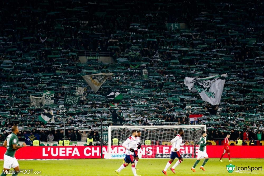 Le stade Geoffroy Guichard pendant un match