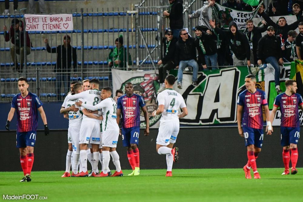 L'AS Saint-Etienne a corrigé le SM Caen (0-5), ce samedi soir en Ligue 1.