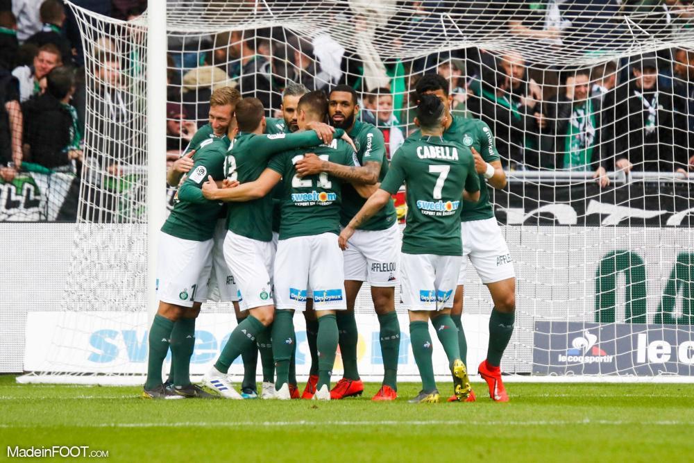 L'AS Saint-Etienne a dominé le Toulouse FC (2-0), ce dimanche après-midi en Ligue 1.