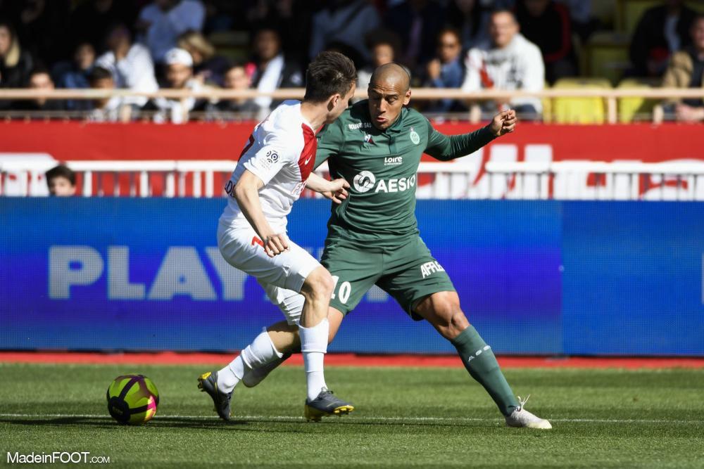 L'AS Saint-Etienne s'est imposée face à l'AS Monaco (2-3), ce dimanche après-midi en Ligue 1.