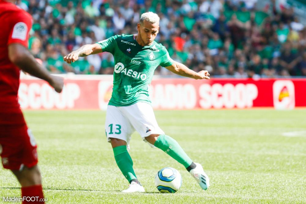 Miguel Trauco, le défenseur latéral gauche de l'AS Saint-Etienne.