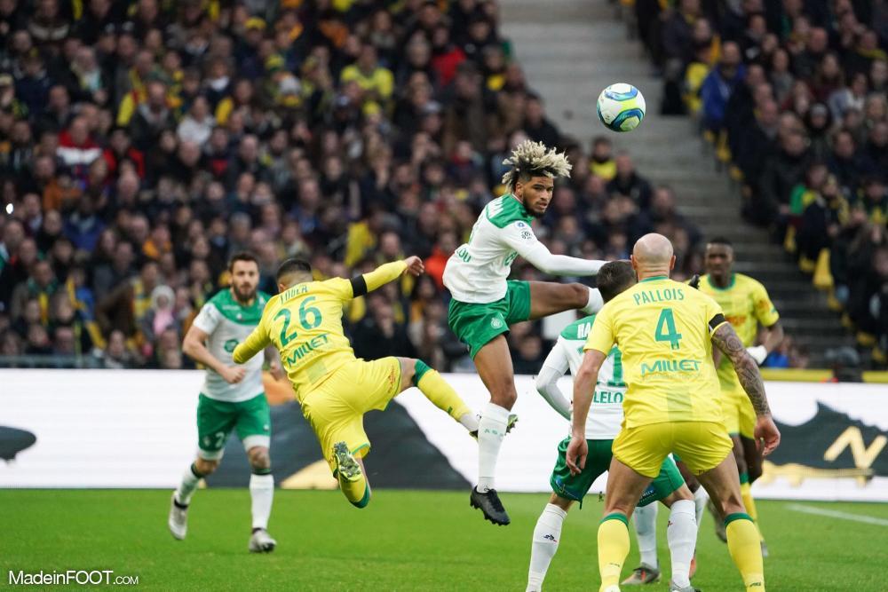 L'AS Saint-Etienne s'est imposée sur la pelouse du FC Nantes (2-3), ce dimanche après-midi en Ligue 1.