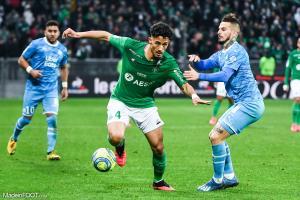 William Saliba sera au Stade de France pour soutenir l'AS Saint-Etienne.