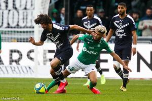 Les compos officielles du match entre l'AS Saint-Etienne et les Girondins de Bordeaux.