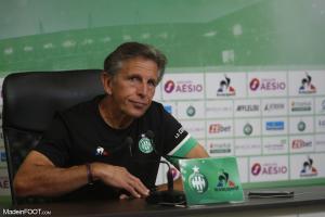 Claude Puel était plutôt alarmiste après cette nouvelle des Verts face à Brest (4-1)