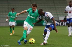 Mathieu Debuchy, le défenseur latéral droit de l'AS Saint-Etienne.