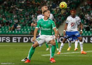 L'album photo du match entre l'AS Saint-Etienne et le RC Strasbourg Alsace.