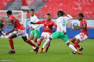 L'album photo du match entre le Stade Brestois 29 et l'AS Saint-Etienne.