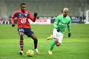 L'album photo du match entre l'AS Saint-Etienne et le Lille OSC.