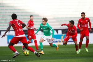 Les compos officielles du match entre le Nîmes Olympique et l'AS Saint-Etienne.