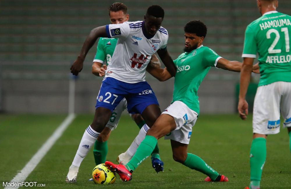 L'AS Saint-Etienne s'est imposée face au RC Strasbourg Alsace (2-0), ce samedi soir en Ligue 1.
