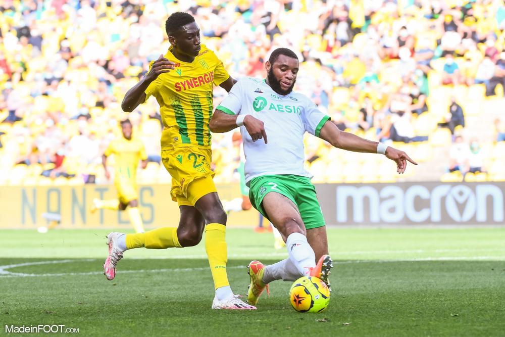 Le FC Nantes et l'AS Saint-Etienne se sont quittés dos à dos (2-2), ce dimanche après-midi en Ligue 1.