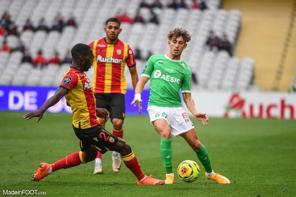 L'AS Saint-Etienne s'est inclinée face au RC Lens (2-0), ce samedi après-midi en Ligue 1.