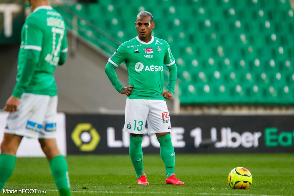 Miguel Trauco, arrière gauche de l'AS Saint-Etienne