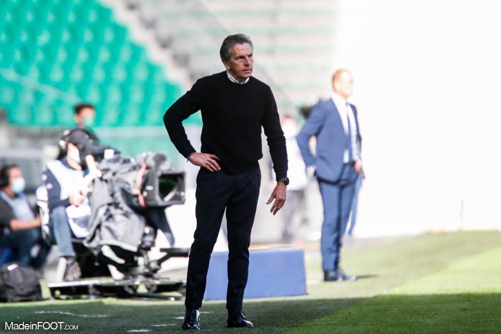 Claude Puel, l'entraineur de l'AS Saint-Etienne