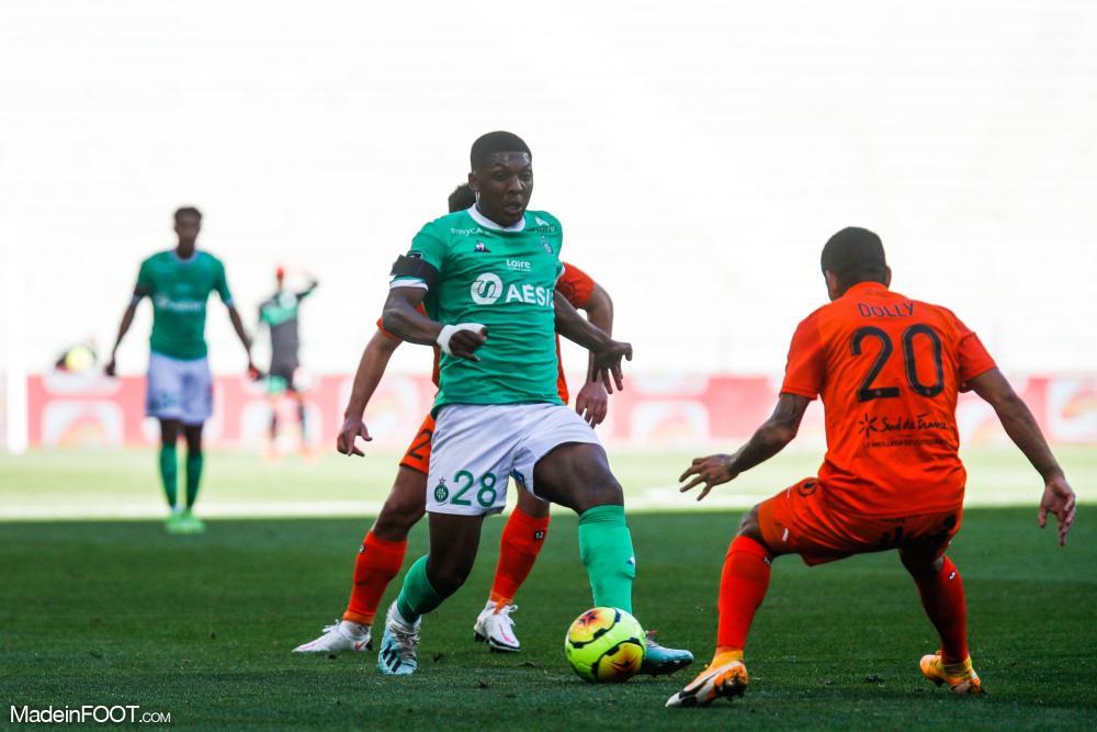 L'AS Saint-Etienne s'est inclinée face au Montpellier HSC (0-1), ce dimanche après-midi en Ligue 1.
