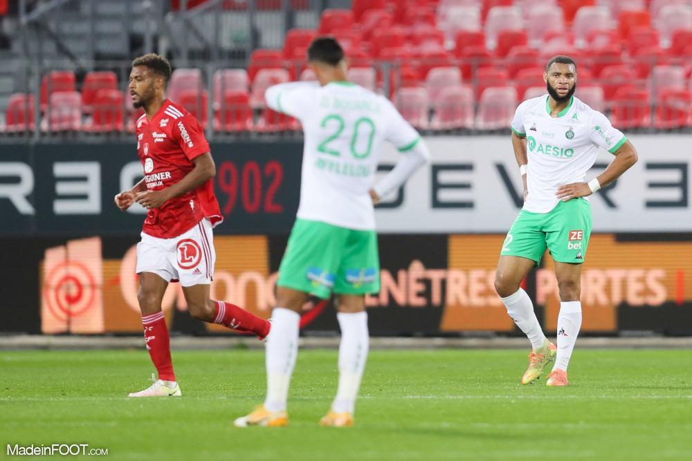 L'AS Saint-Etienne s'est lourdement inclinée sur la pelouse du Stade Brestois 29 (4-1), ce samedi après-midi en Ligue 1.