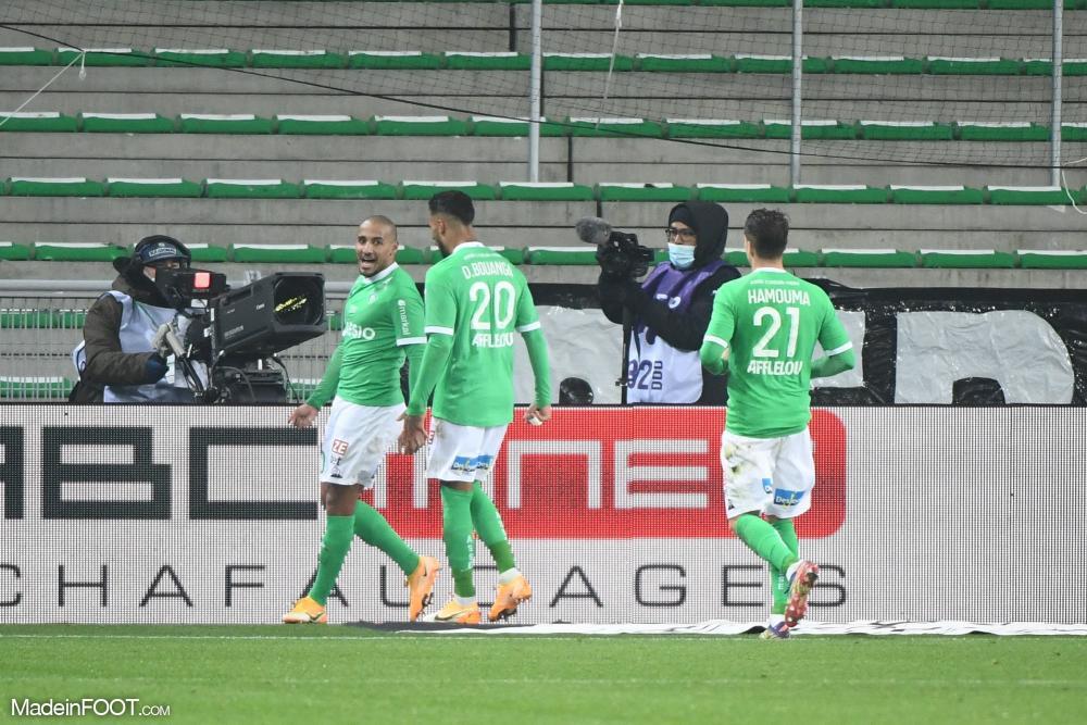 Saint-Etienne arrache un point