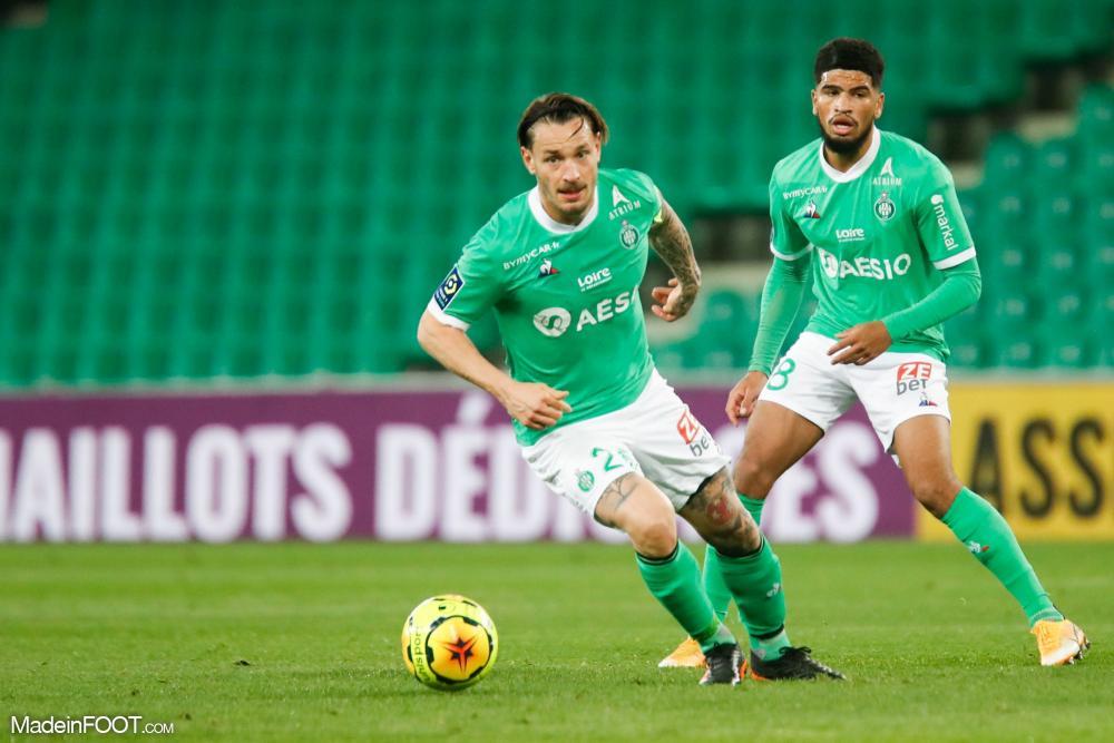 Cette saison, Mahdi Camara a disputé 35 matchs avec Saint-Étienne