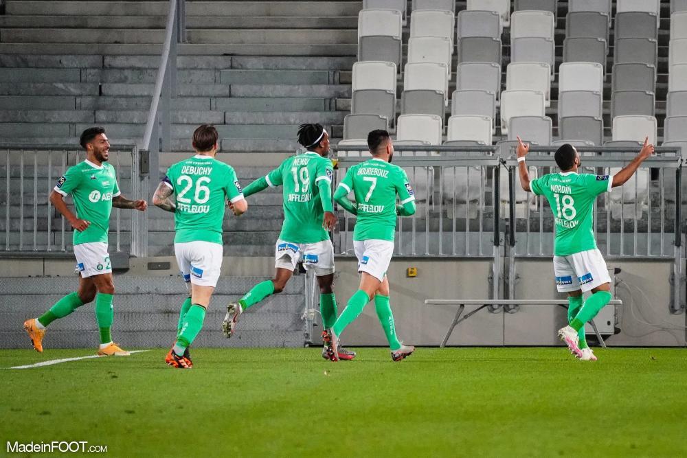 L'AS Saint-Etienne s'est imposée sur la pelouse des Girondins de Bordeaux (1-2), ce mercredi soir en Ligue 1.