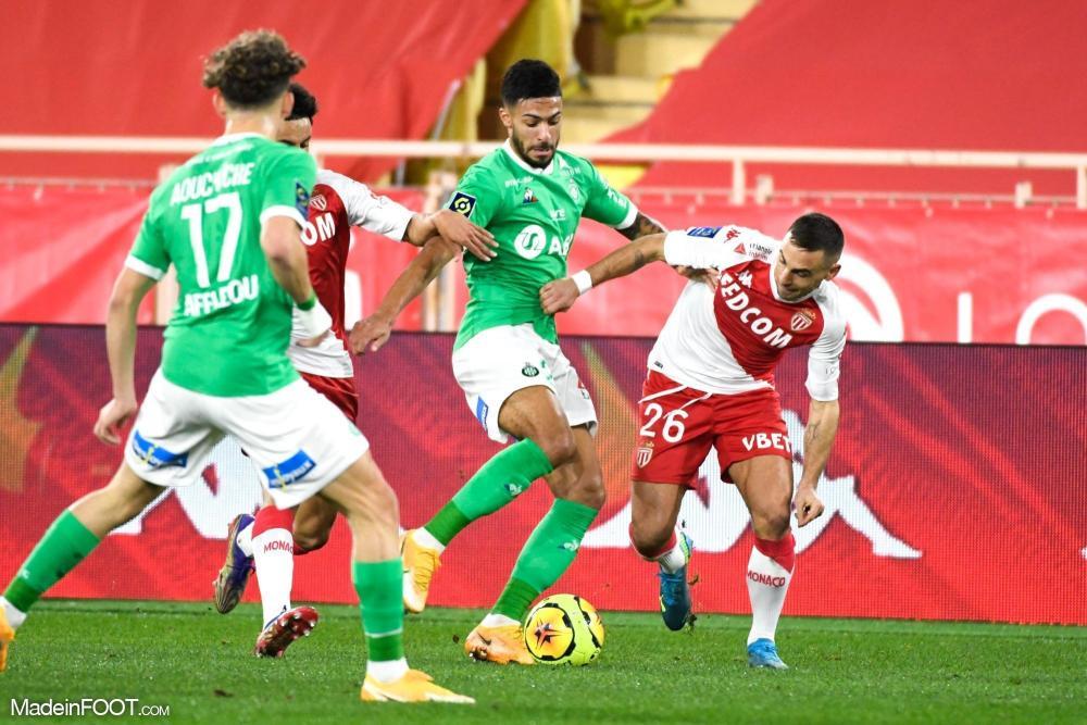 L'AS Saint-Etienne se et l'AS Monaco sont quittées sur un score de parité (2-2), ce mercredi soir en Ligue 1.
