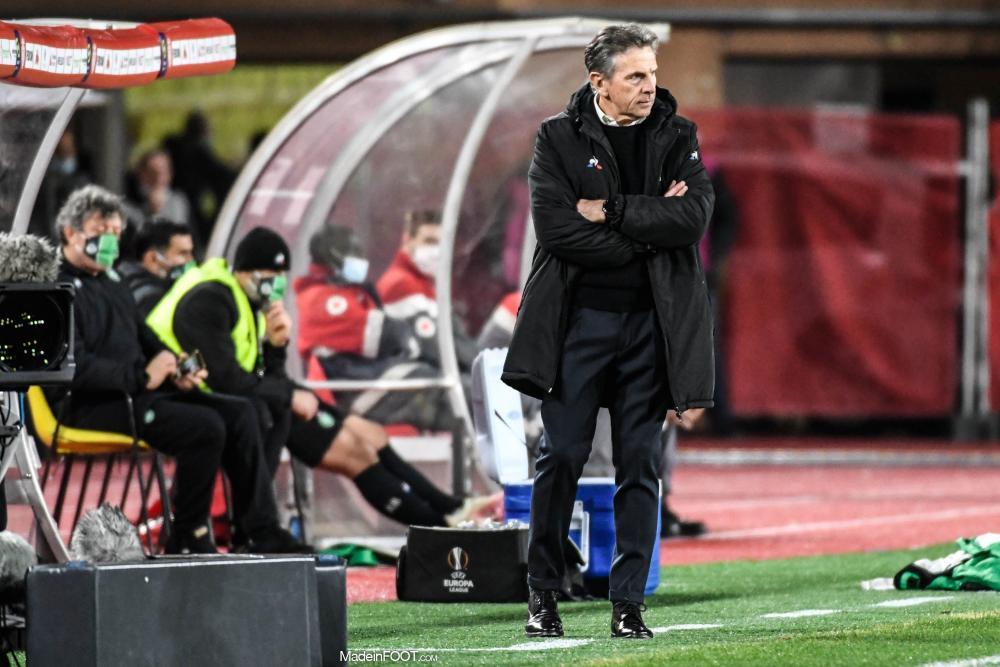 Claude Puel tente d'analyser la défaite