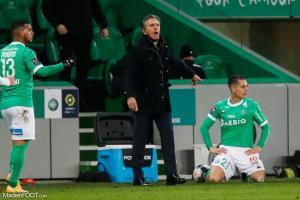 Claude Puel est satisfait de ses joueurs