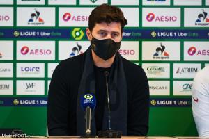 Mauricio Pochettino, l'entraîneur du Paris Saint-Germain.
