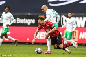 Wahbi Khazri, l'attaquant de l'AS Saint-Etienne.