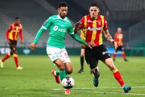 L'album photo du match entre l'AS Saint-Etienne et le Racing Club de Lens.