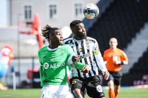 L'album photo du match entre le SCO Angers et l'AS Saint-Etienne.