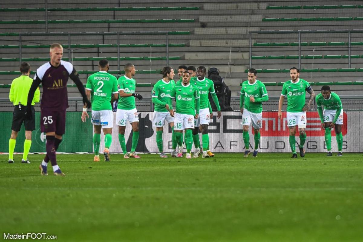 Le PSG et Saint-Etienne se quittent dos à dos