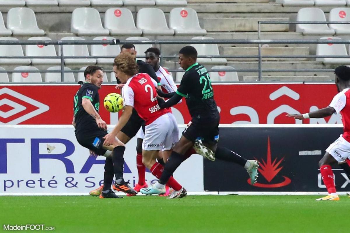 L'AS Saint-Etienne s'est inclinée face au Stade de Reims (3-1), ce samedi soir en Ligue 1.