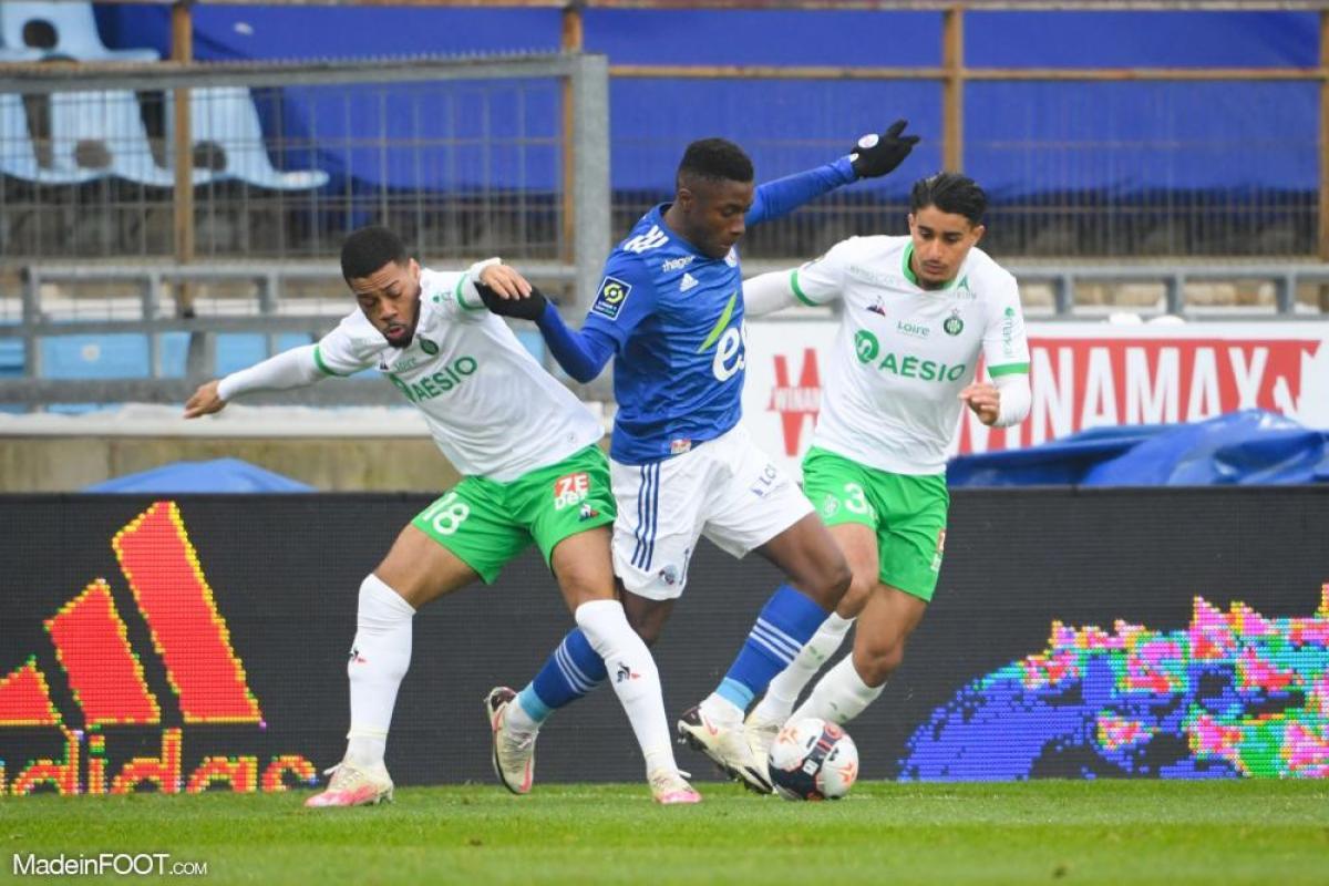 L'AS Saint-Etienne s'est inclinée face au RC Strasbourg Alsace (1-0), ce dimanche après-midi en Ligue 1.