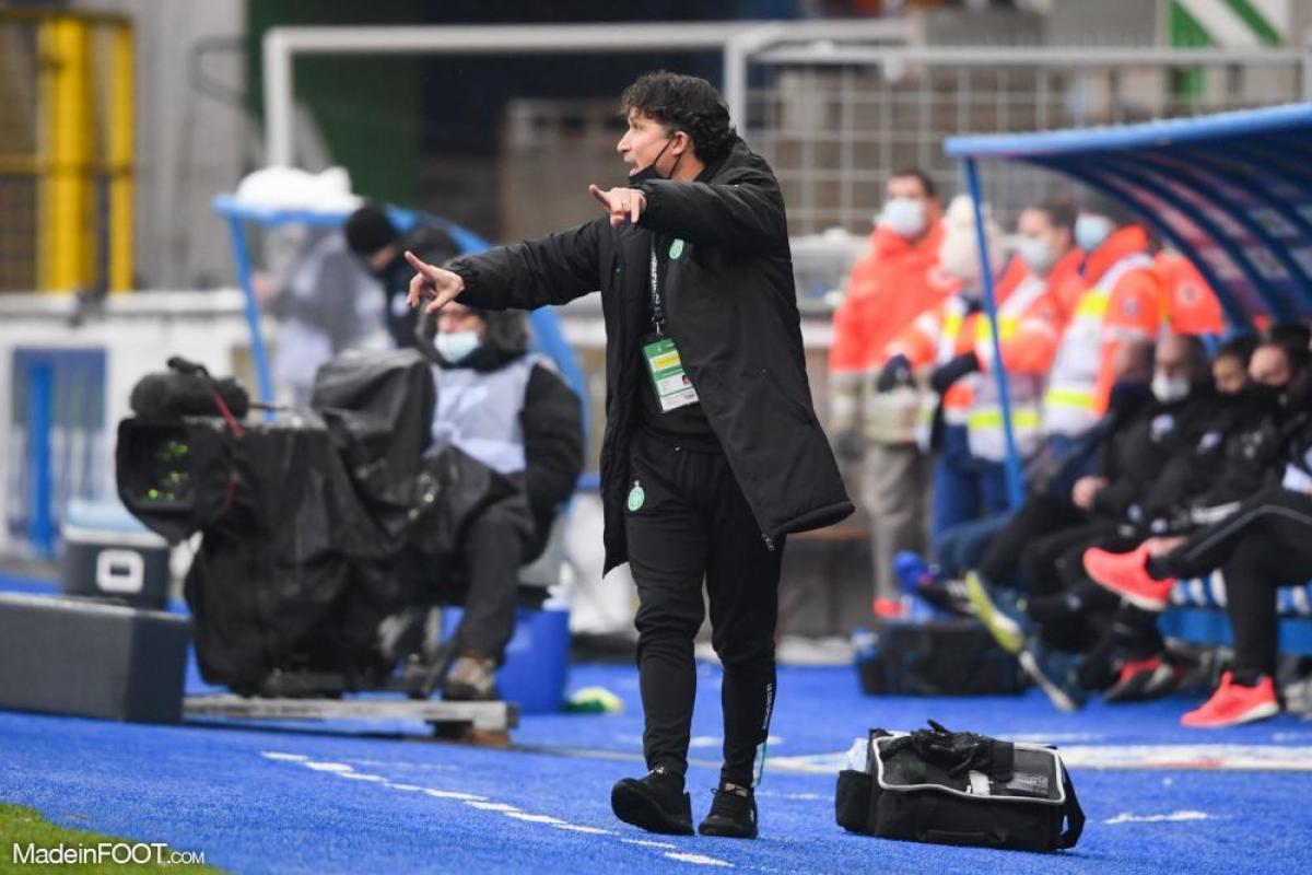 Laurent Huard, le responsable technique du centre de formation de l'AS Saint-Etienne.