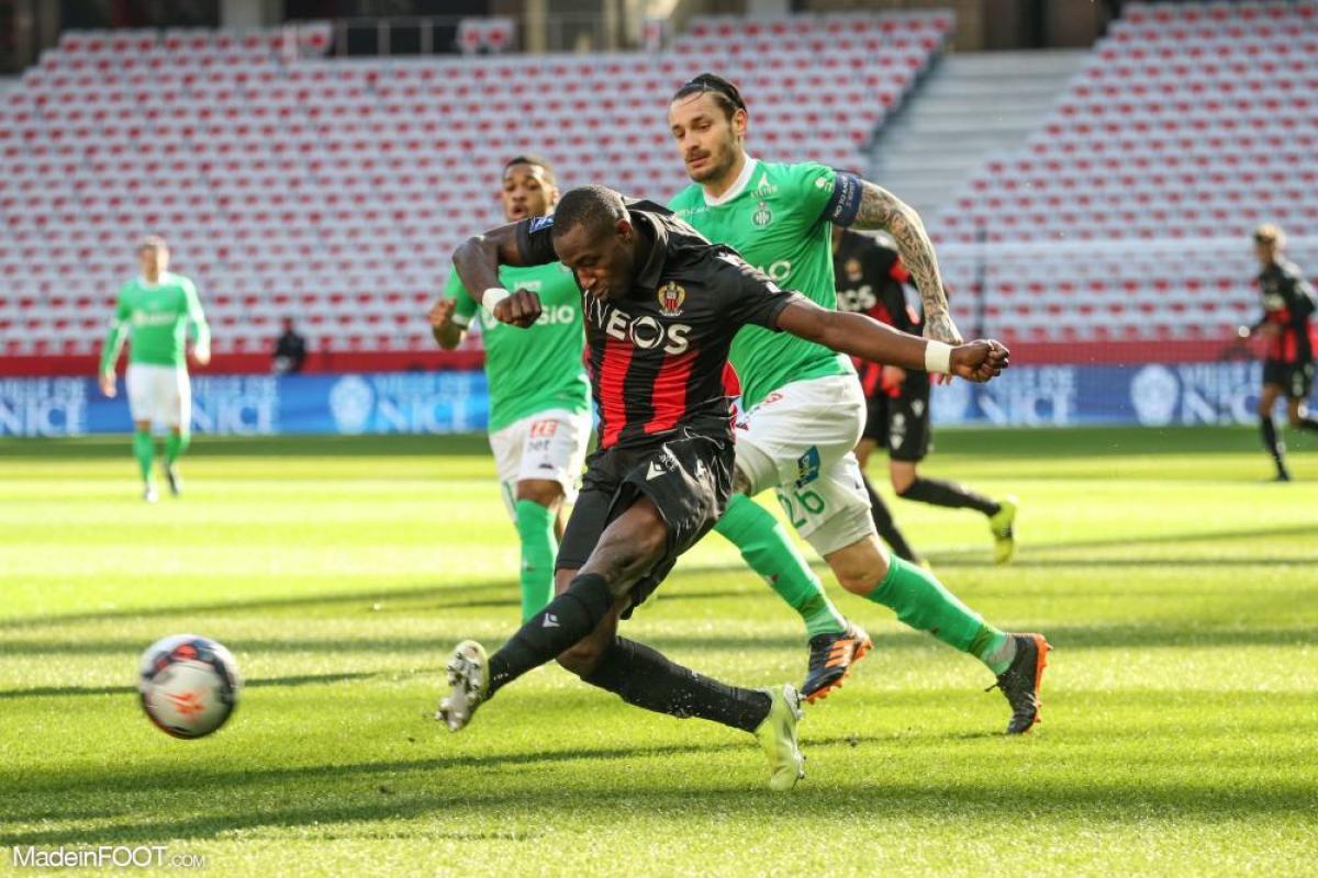 L'AS Saint-Etienne a dominé l'OGC Nice (0-1), ce dimanche après-midi en Ligue 1.