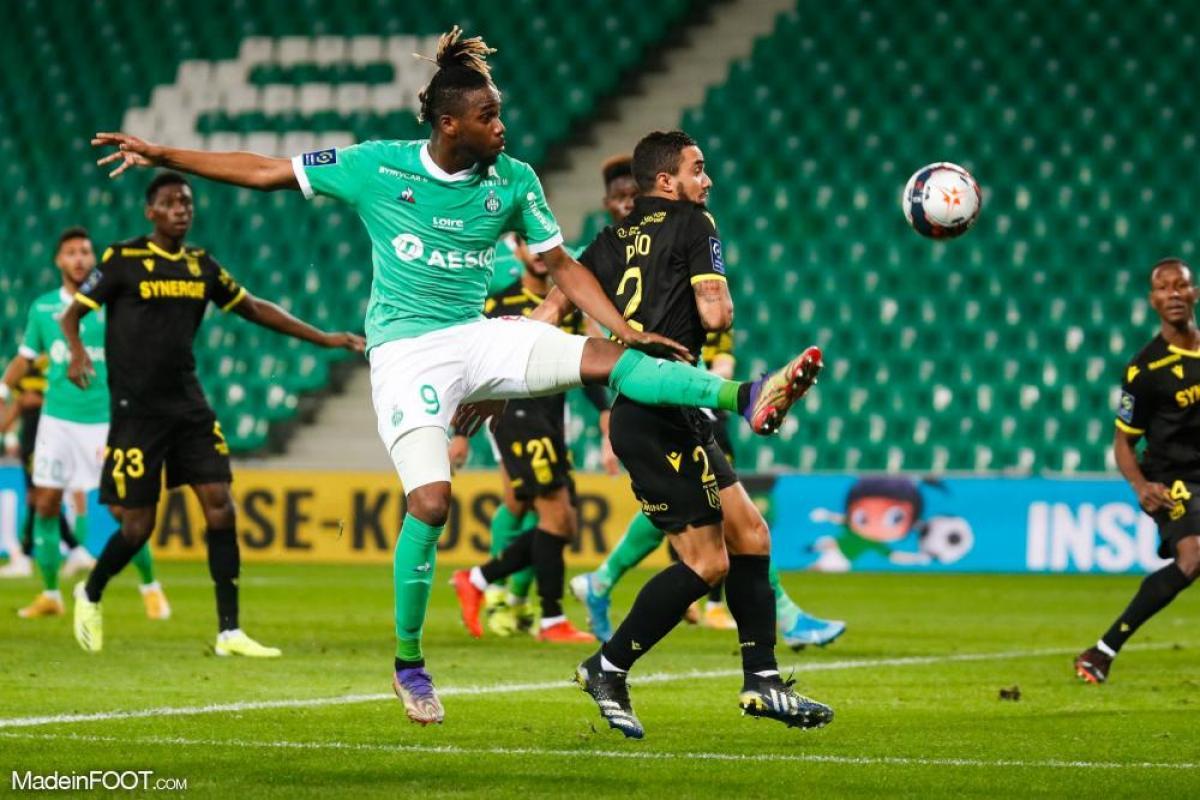 L'AS Saint-Etienne et le FC Nantes se sont séparés sur un score de parité (1-1), ce mercredi soir en Ligue 1.