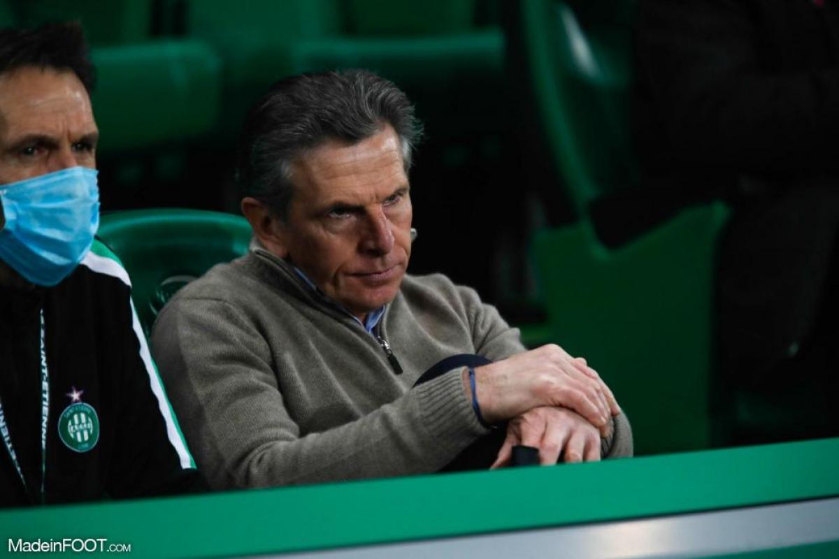 Claude Puel, l'entraîneur de l'AS Saint-Étienne