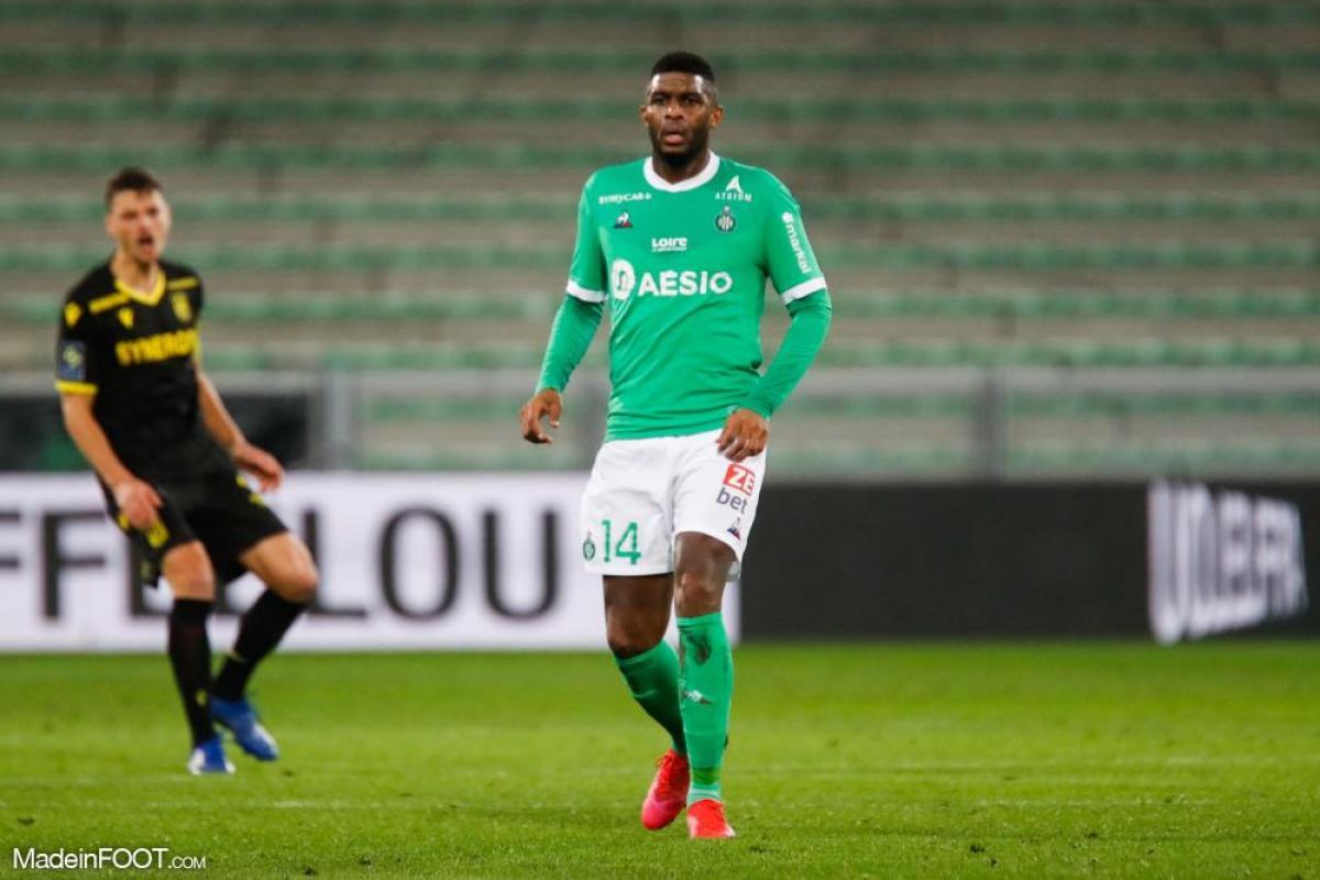 Anthony Modeste, l'attaquant de Cologne, est prêté sans option d'achat à l'AS Saint-Etienne.