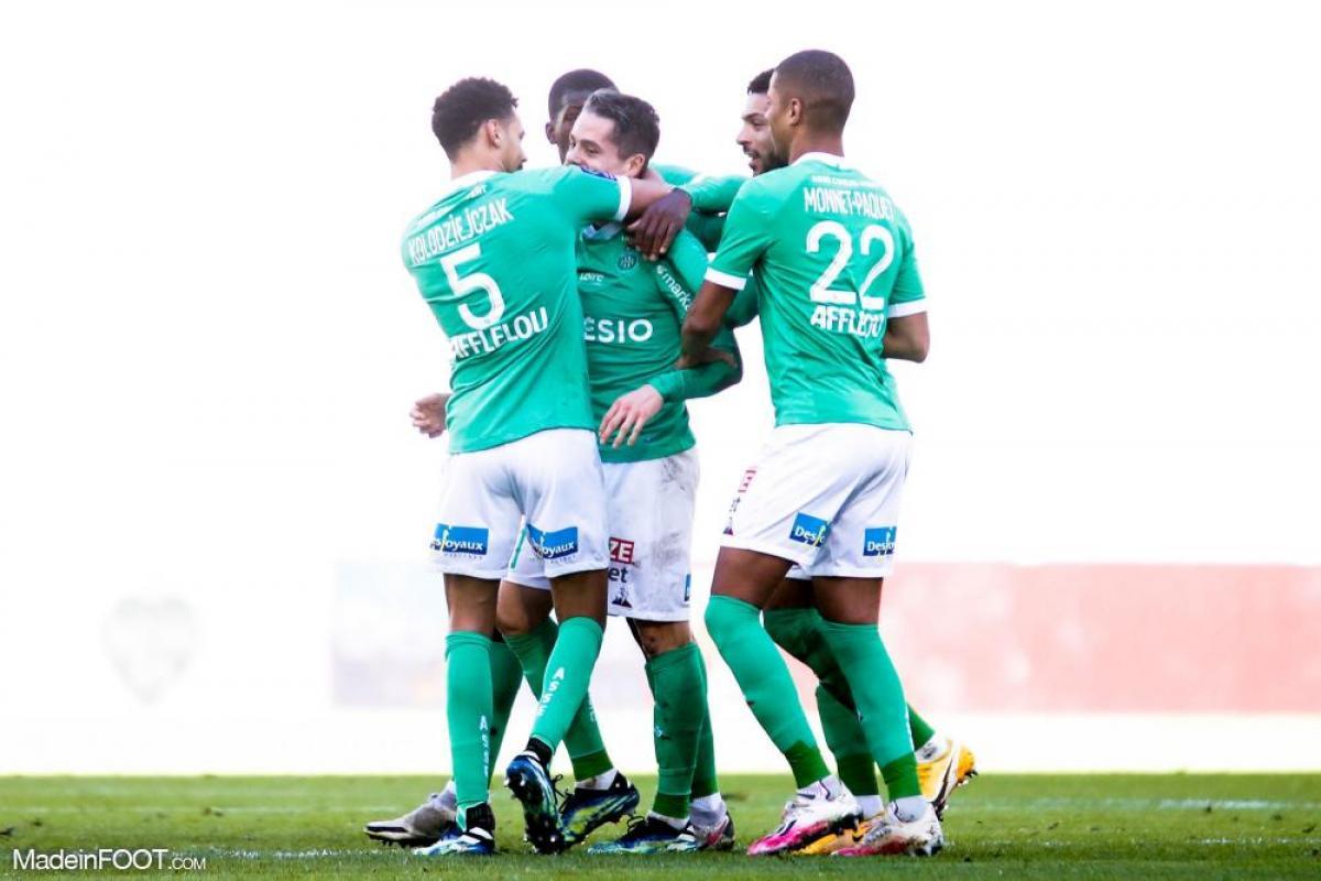 L'AS Saint-Etienne a dominé le FC Metz (1-0), ce dimanche après-midi en Ligue 1.