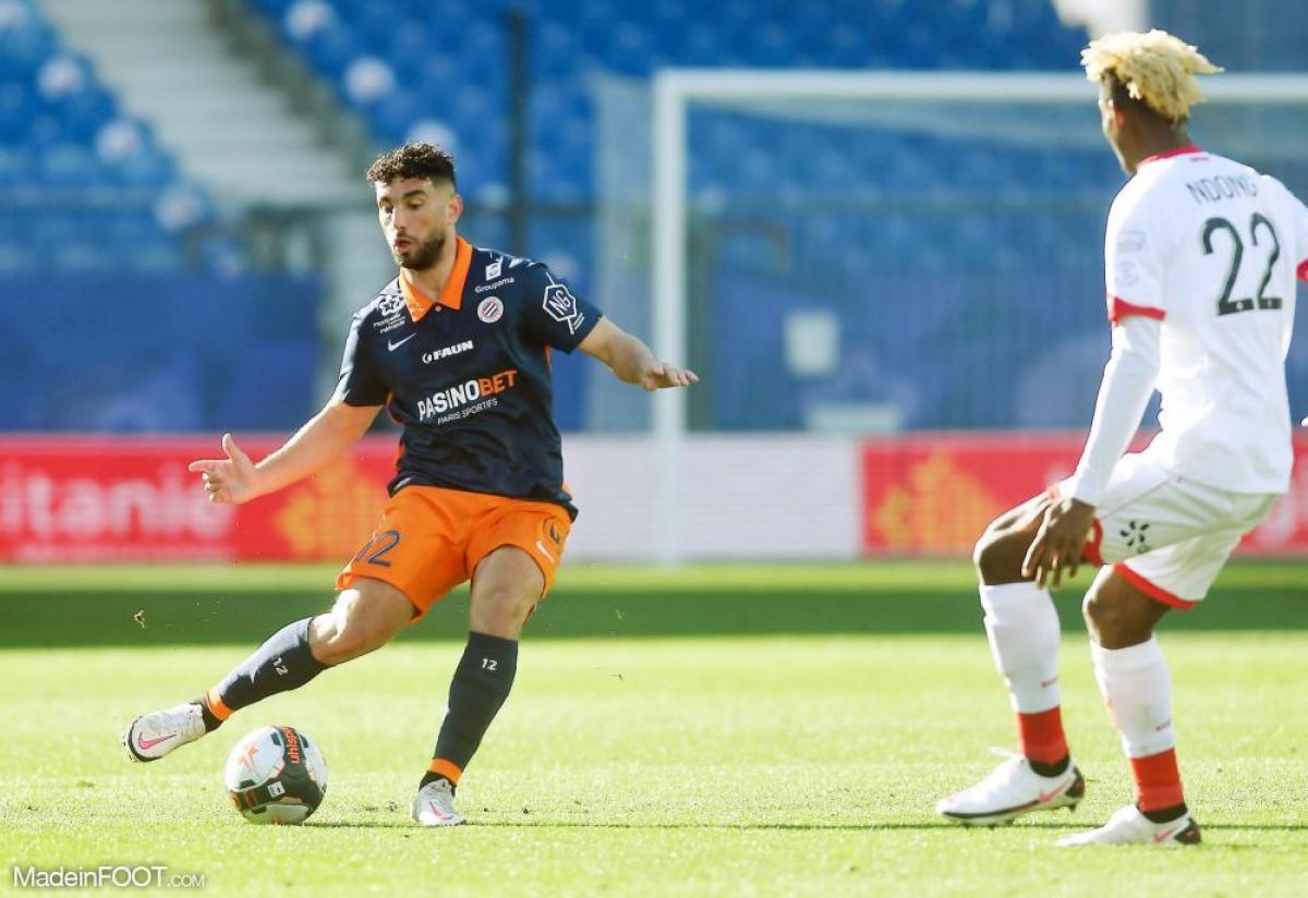 Jordan Ferri, le milieu de terrain du Montpellier HSC.