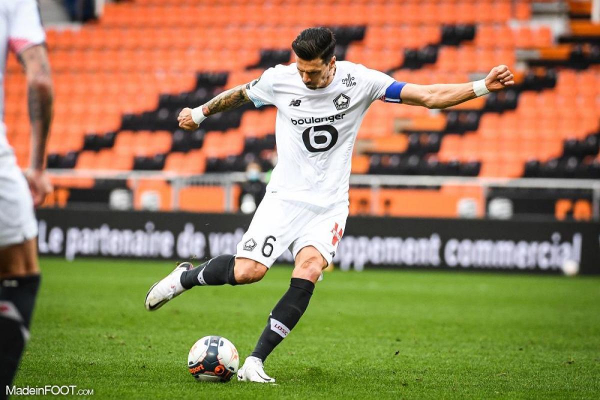 José Fonte contre Lorient