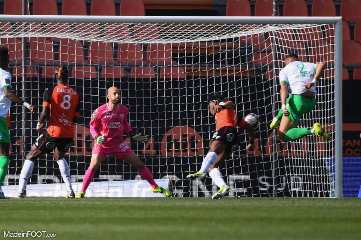 L'AS Saint-Etienne s'est inclinée face au FC Lorient (2-1), ce dimanche après-midi en Ligue 1.